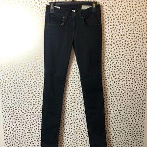 RAG AND BONE skinny coal jeans SZ 25